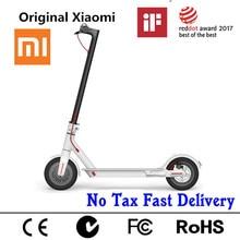 US EU Stock Original Xiaomi Mijia M365 Smart Electric Scooter foldable mi lightweight long board hoverboard skateboard 30KM