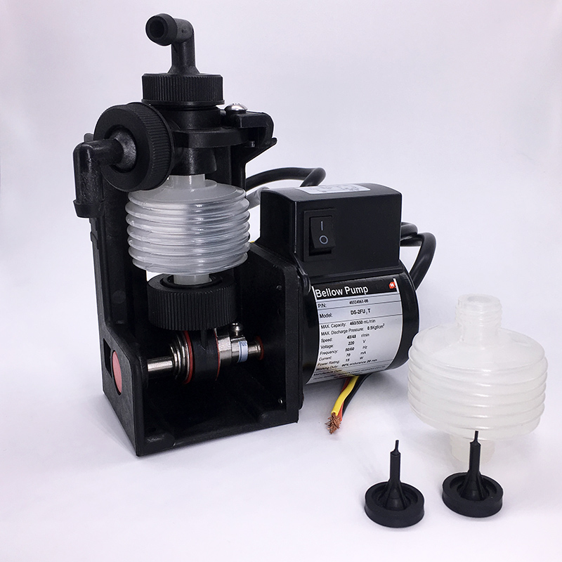 CE&UL Approved Dosing Water Pump DS-2FU2T Developing Replenish bellow pumps Customized for  photo machine Printing Machine Kodak 6162 63 1015 sa6d170e 6d170 engine water pump for komatsu