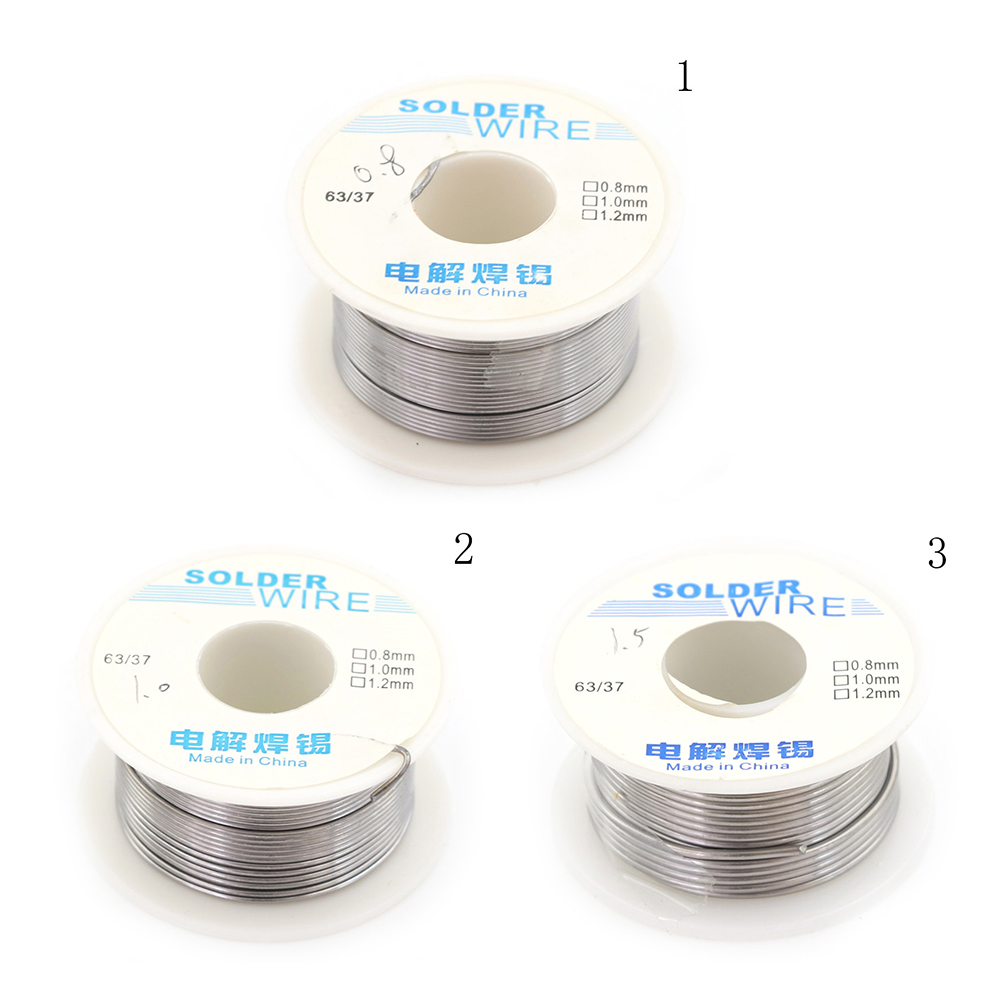 Tin Lead Core Soldering Wire 1.0mm Flux 183C Stainless Steel Metal Accessories