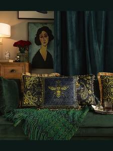 Декоративные домашние диванные подушки, Европейский диван-кровать с животными, подушка, Офисная подушка, наволочка, наволочка