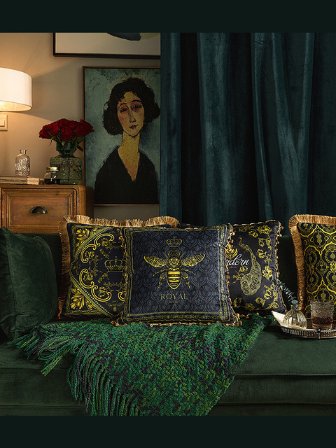 בית דקורטיבי ספה לזרוק כריות אירופאי בעלי החיים ספת מיטת כרית כרית משרד כרית כרית ציפית כרית כיסוי