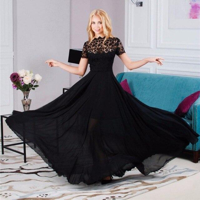 Black lace evening dress ukraine
