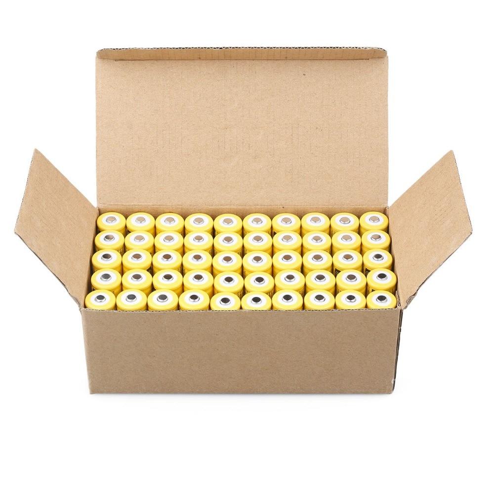 Cncool 50 pz 3.7 V 9900 mah Batteria 18650 Celle batteria al litio batteria al litio ricaricabile per torcia Della torcia elettrica Accumulatori
