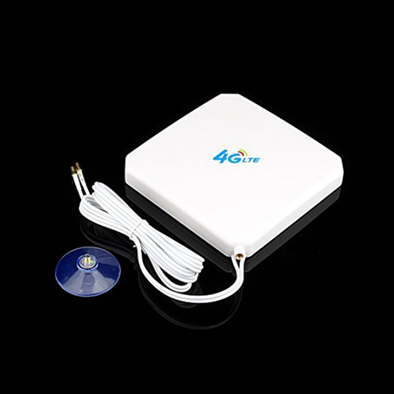 Bakeey 4G LTE Antenna 35dBi High Gain Mobile Signal Booster Amplifier Wifi Repeater Network Expander Routers TS9 Connector