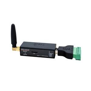 Image 1 - Puerto serie RS232 a GPRS, convertidor, módulo GSM, servidor serie, Elfin EG10, compatible con protocolo Modbus TCP