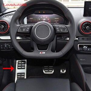 Image 1 - Accélérateur de voiture pédale de frein à gaz pédale plaquettes frein à essence embrayage à pédales pour Audi A3 A4 A6 A5 A7 Q3 Q7 A8 Q2L S4 S3