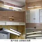 Retro Led Wandlamp Lamp Goud Spiegel Wandkandelaars Badkamer Led Spiegel Licht Waterdichte LED Wandlampen Slaapkamer Art Home verlichting - 5