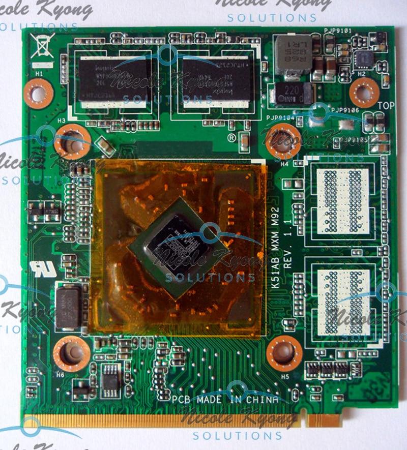 K51AB M92 Ver 1,1 60-NVYVG1000-B01 69N0EUV10B01 HD4570 DDR2 512 м VGA видео карты для ASUS K51AB K70AB X70AB K70AD K70AF X70AF