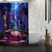 Hot Sale Custom South Park Shower Curtain Waterproof Fabric Shower Curtain for Bathroom F#Y1-17