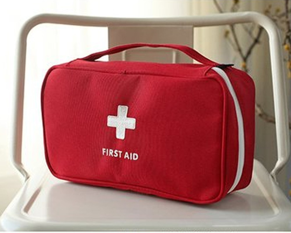 Large Capacity First Aid Bag,emergency Medical Kit Portable Travel Outdoor XL Camping Family Car Construction Jungle Medical Bag
