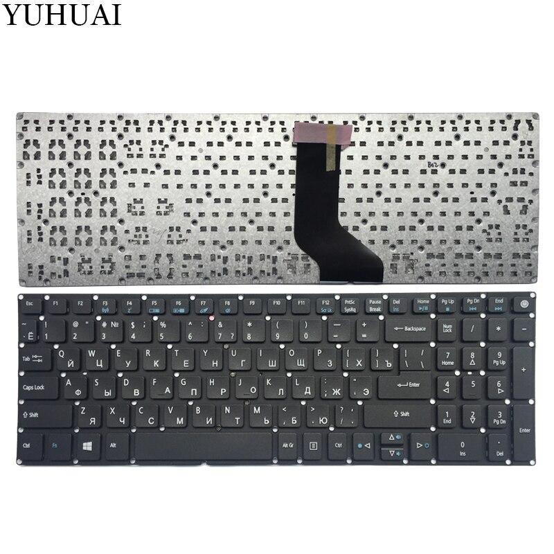 Teclado russa para Acer Aspire E5-573 E5-573T E5-573TG E5-573G E5-722 RU teclado do laptop
