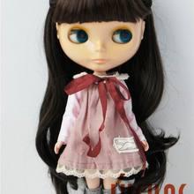 JD323 9-10 дюймов(23-25 см) Синтетический мохер куклы парики Blyth кукла сложная коса парик для принцессы