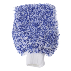 Image 4 - 1PC Car Care Glove Plush Soft Microfibre Wash Mitt Microfiber Car Cleaning Detailing