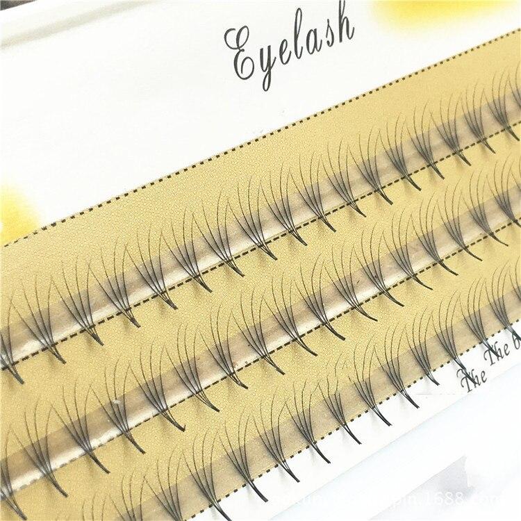 Натуральный стиль 1 набор большой емкости 10D/0,07 мм толщина Прививка ресниц наращивание ресниц Накладные ресницы макияж большие инструменты ...
