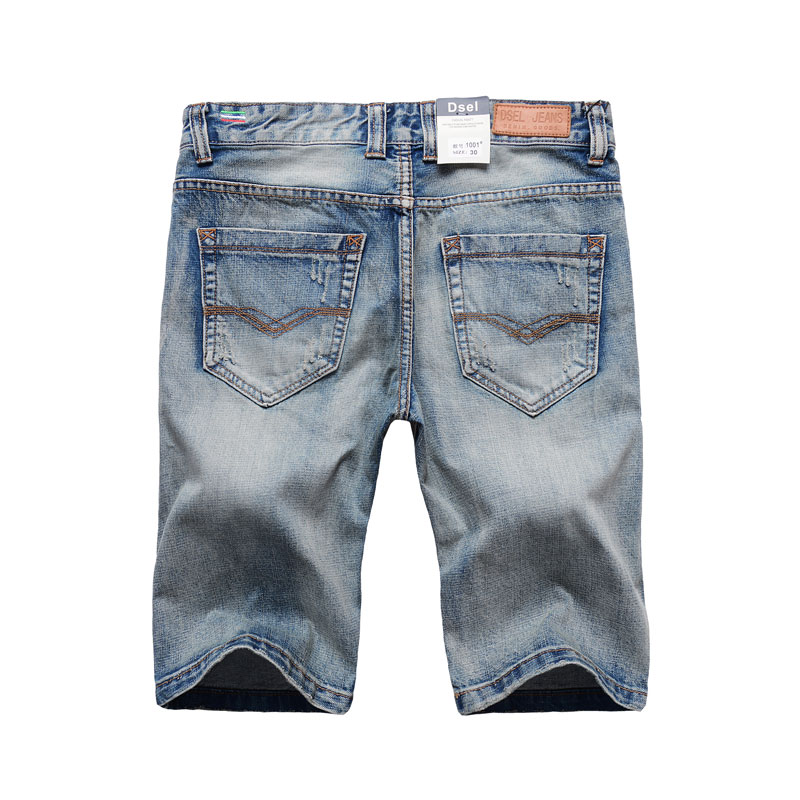 Blue Color Denim Shorts Fashion Designer Short  1