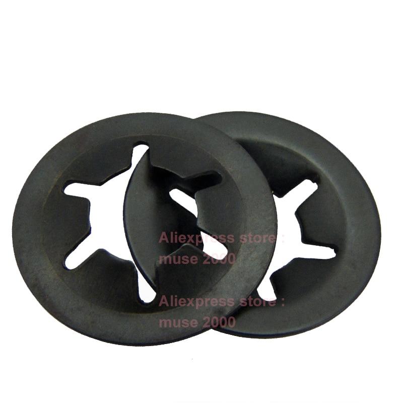 Starlock star lock push-on washer for shafts M12 pack 10,retain wheels toys//pram