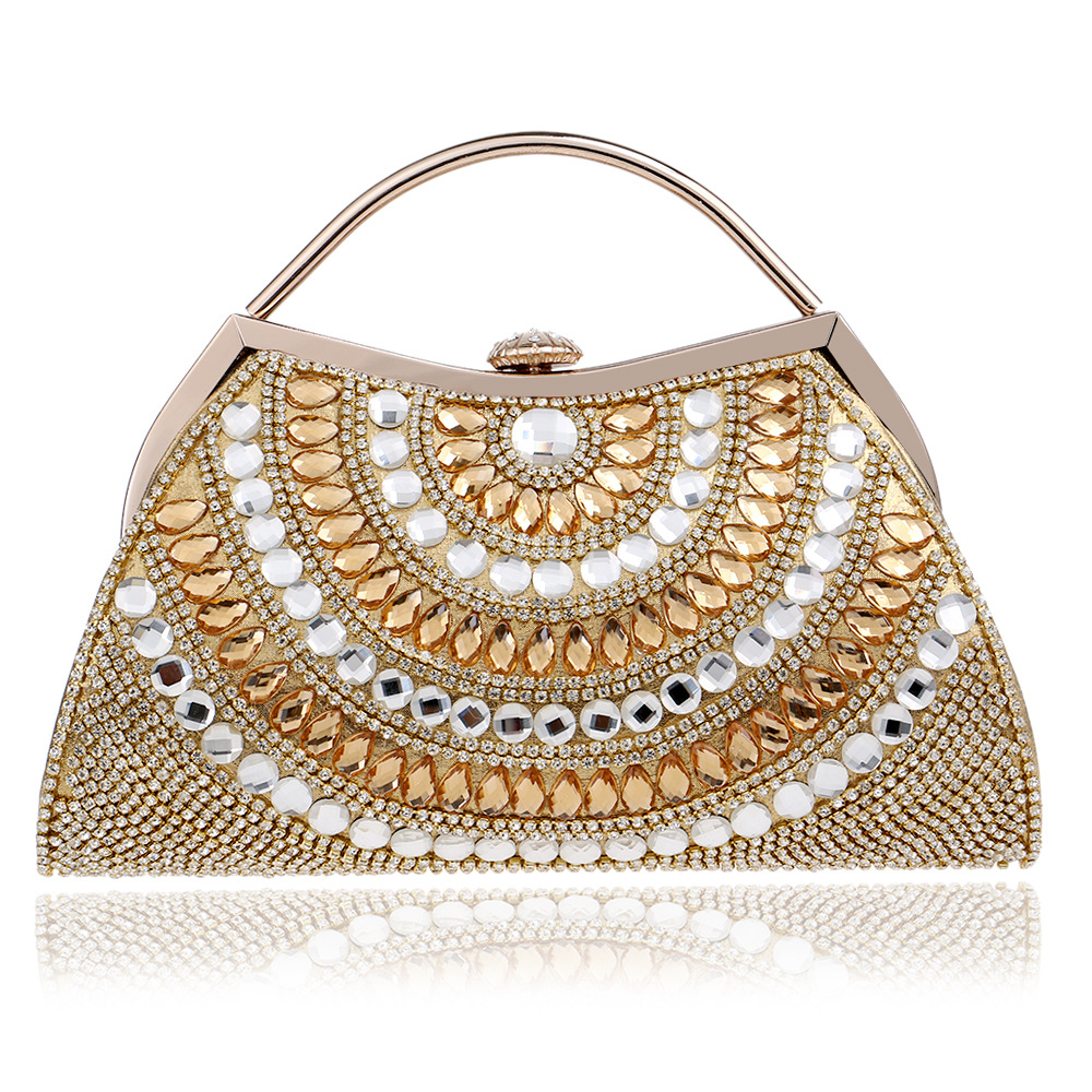 2018 New Women Evening Bags Rhinestones Lady Messenger Chain Shoulder Bag Day Clutches Purse Bag For Wedding Evening Bag new car acrylic women s clutches chain women crossbdoy bags evening bag red car purse women handbags