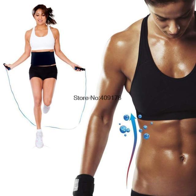 Profissional Do edifício Do Corpo de Emagrecimento controle cinturão TUMMY trimmer cintura cincher cintura barriga Cinto suor neoprene proteger shaper