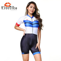 2019 KissBike SPORT Rapha High quality clothing custom women Body triathlon FRENESI skinsuit team rock bicycle maillot ciclismo