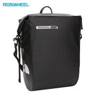 ROSWHEEL Bicycle Rear Rack Bag bike front tube bag 20L large capacity Water Resistant Hanging Pannier handbag