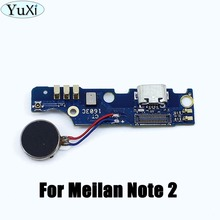 YuXi USB Charging Port Flex Cable For Meizu M2 Note Dock Connector Charging Port Board Repair