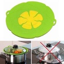 Силиконовая крышка разлива Пробка крышка для кастрюли сковорода кухонные аксессуары кухонная утварь цветок кухонная посуда кухонные гаджеты