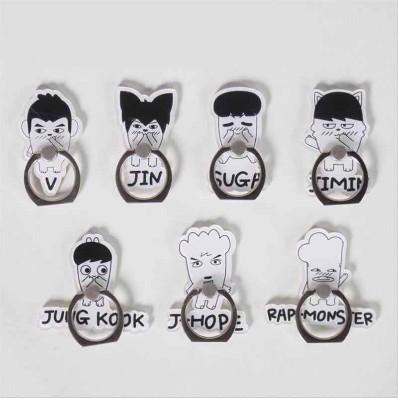 БЦ хип-хоп Рэп монстр Цзиминь JUNGKOOK СУГА в Цзинь jhope подставка держатель для мобильного телефона перстень модели игрушка в подарок 7060758