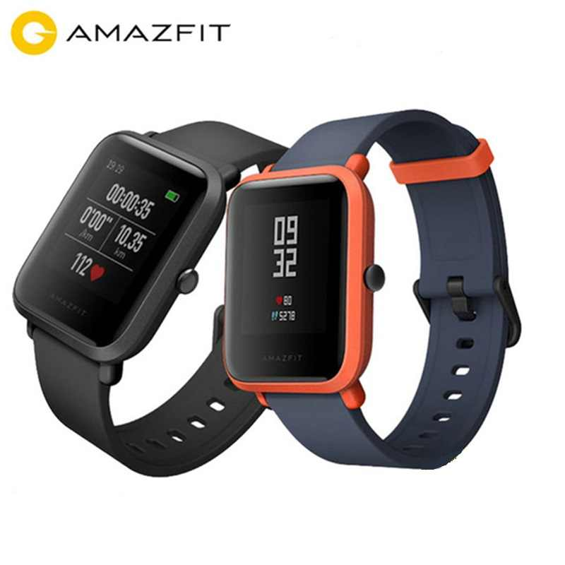 Original AMAZFIT Bip Youth Edition Smart Watch GPS GLONASS Bluetooth 4.0 Heart Rate Monitor Waterproof Android IOS ES RU Stock