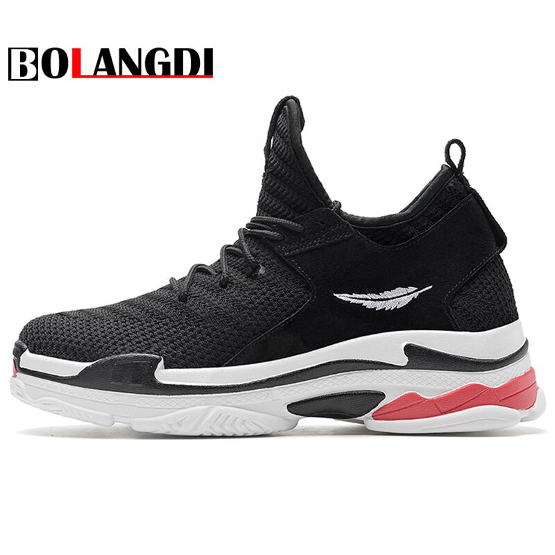 Bolangdi 2018 New Men Outdoor Running Shoes Breathable Training Shoes Beginner Mesh Footwear Male Shoes Sports