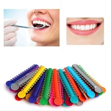 40 Sticks / Pack Multi Color Dental Ligature Ties Orthodontics Elastic Rubber Bands