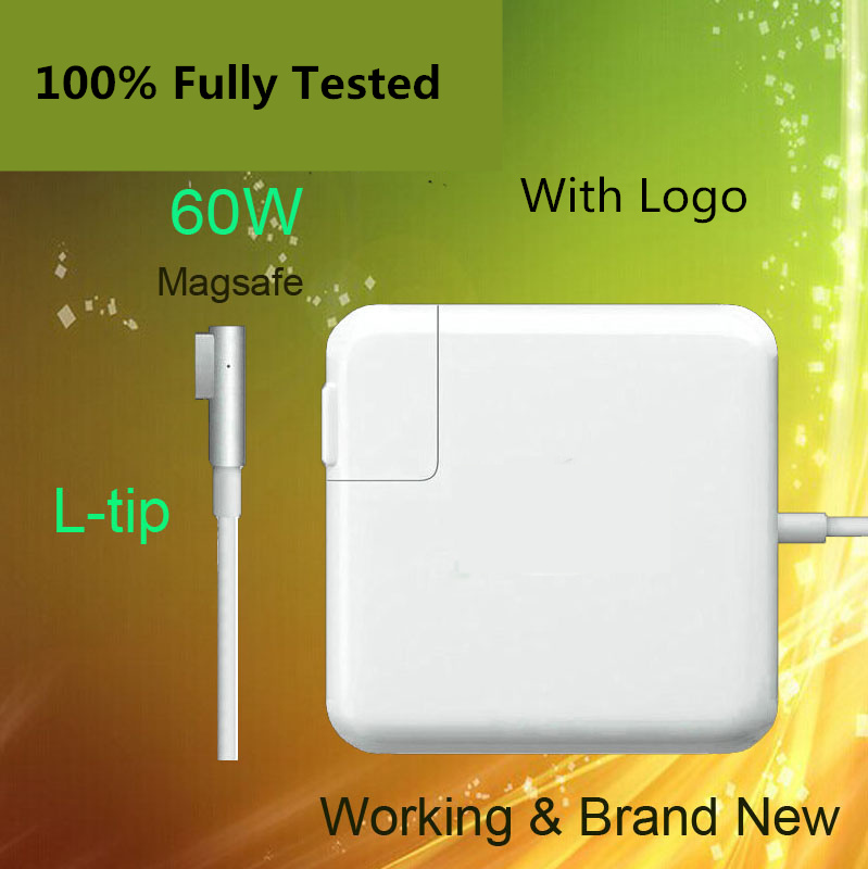 Crazy Cow For magsafe 60W 16.5V 3.65A power adapter charger for Macbook pro13 A1184 A1330 A1344 A1278 A1342 A1181 A1280 new original magsafe 60w 16 5v 3 65a power adapter charger for apple macbook pro a1184 a1330 a1344 a1278 a1342 a1181 a1280