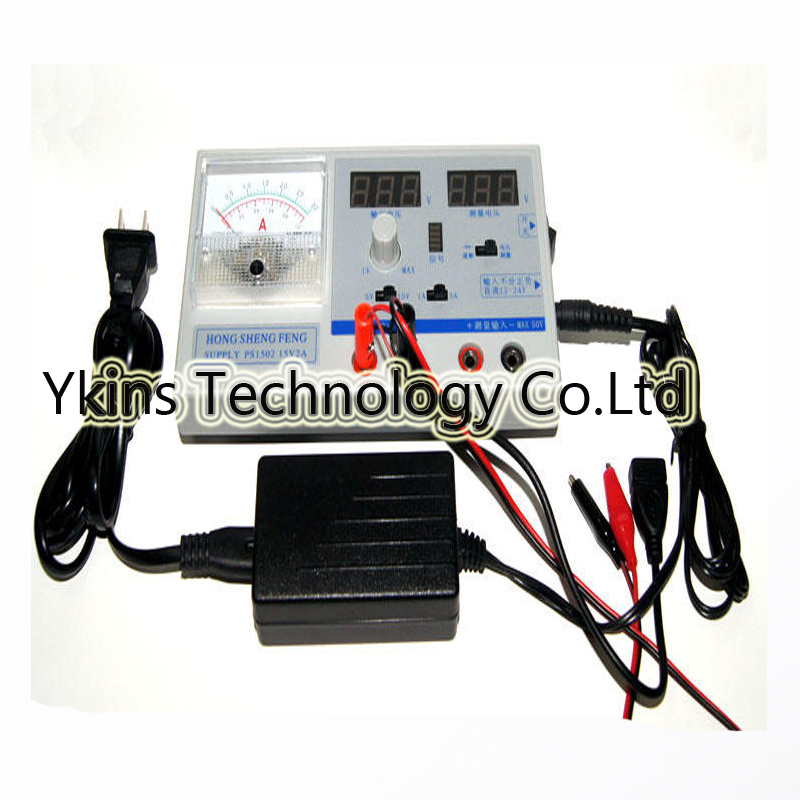 цена на PS1502 Mini DC Power Supply Adjustable Digital Regulated power 15V 2A Dual display for all cell phone repair