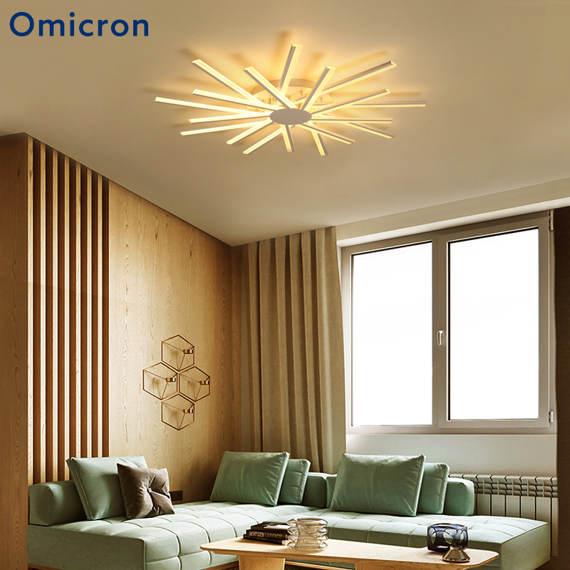 Omicron LED Ceiling Lights Home White Creative Lamp LED Simple Home Decor Warm For Bedroom Children Room LightingOmicron LED Ceiling Lights Home White Creative Lamp LED Simple Home Decor Warm For Bedroom Children Room Lighting