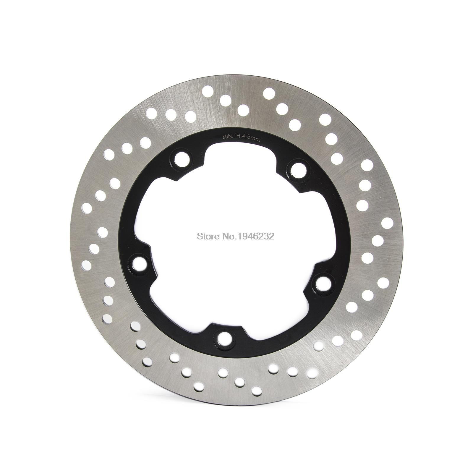 New Motorcycle Rear Rotor Brake Disc For Suzuki Bandit 1200 1250 GSF 650 750 GSR 600 GSX 650 Inazuma 250Z (GW250) 2012-2016 rear brake steel disc rotor for suzuki gsxr1300 gsx r 1300 gsf1200 gs 1200