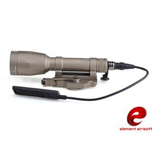 Image 2 - Волшебный огонь M620p Тактический яркий свет Быстрый снос фонарик Наружное освещение водонепроницаемый элемент Ex363 BK DE