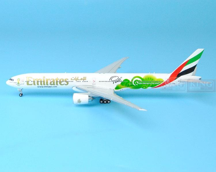 New: GJUAE1484 B777-300ER Emirates airline GeminiJets 2014 World Cup commercial jetliners plane model hobby gjcca1366 b777 300er china international aviation b 2086 1 400 geminijets commercial jetliners plane model hobby