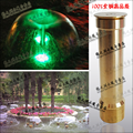 Copper trumpet flower nozzle water features nozzle hemisphere fountain head pool