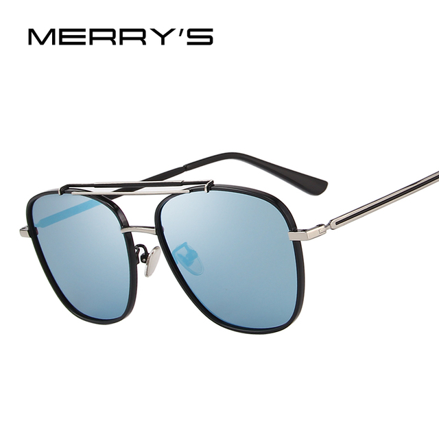 f9deea9168 MERRYS DESIGN Men Polarized Square Sunglasses Fashion Male Eyewear 100% UV  Protection S8180
