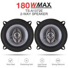 2pcs 5 Inch Car Coaxial Spaeker 13cm 180W 2 Way Auto Music Stereo Full Range Frequency Hifi Speaker Lound Loundspeaker