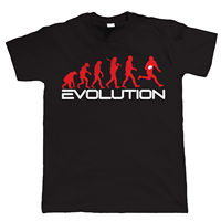 Evolution Of Rugby Funny Mens T Shirt All Sizes Inc 3XL T Shirts Man Clothing Free