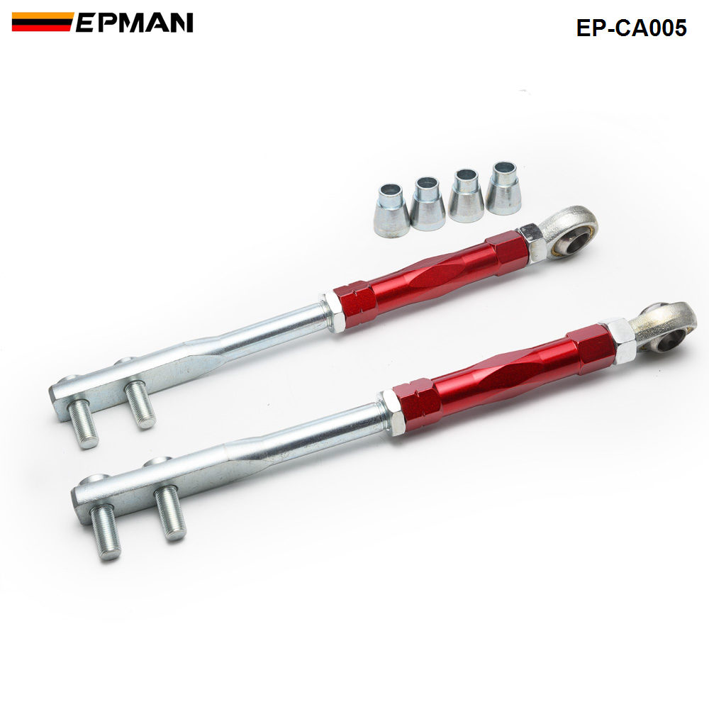 Front Tension Rod Control Arm FOR NISSAN Z32 300ZX 90-96 S13 S14 (For Skyline R32 89-94) RED EP-CA005