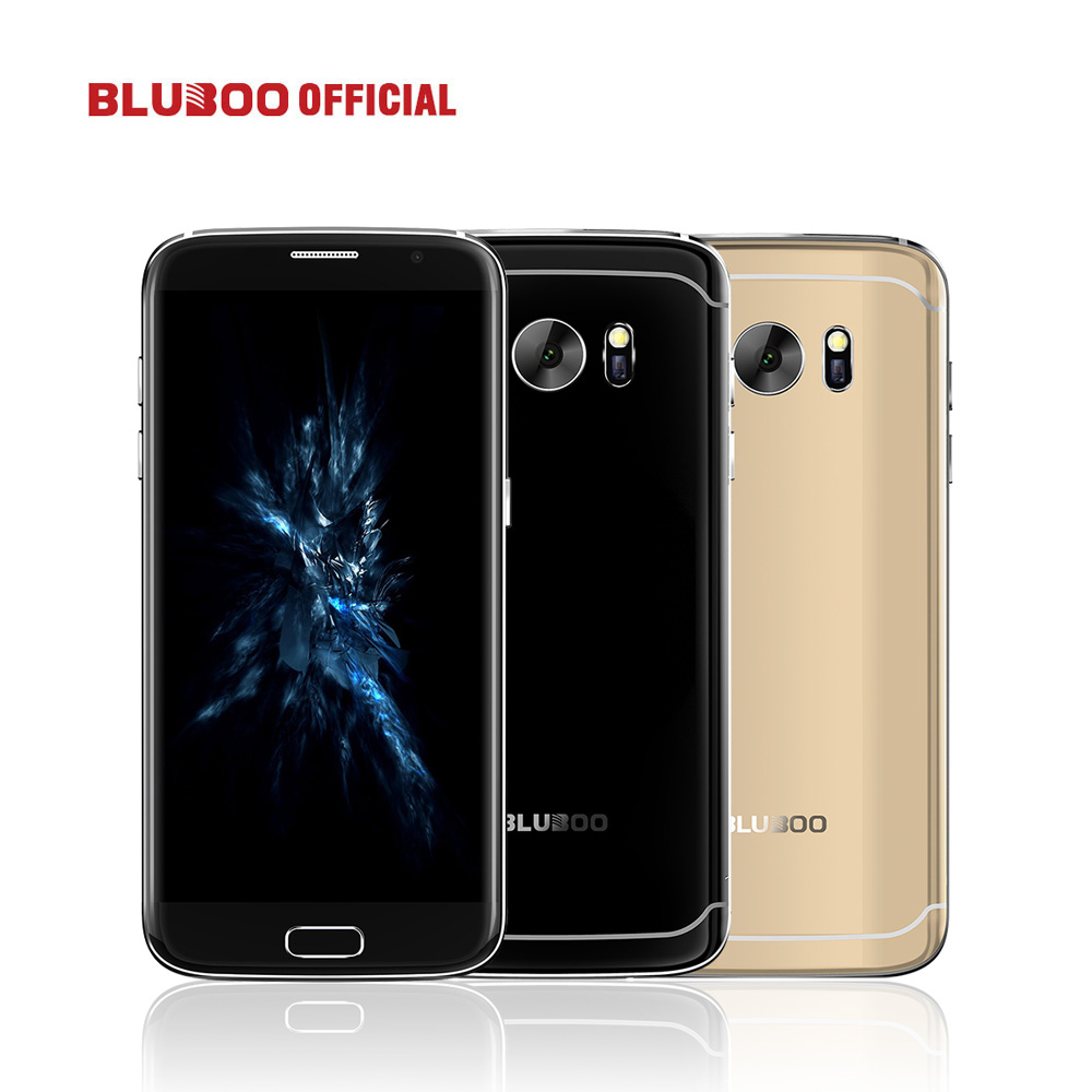 Original BLUBOO Edge 5.5 HD Mobile Phone 4G LTE MTK6737 Quad Core 2GB RAM 16GB ROM Dual Camera Android 6.0 OTG Fingerprint
