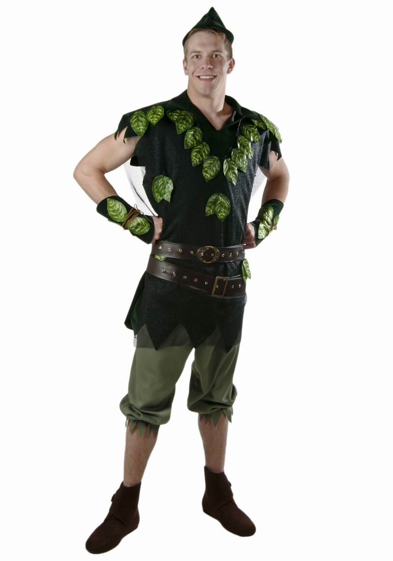 New IREK New Cosplay Party costume children adult Halloween costume Stage Peter Pan Foliage Costume high quality