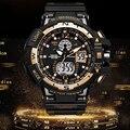 2017 Men Digital Quartz Watch Men Sports Watches Relogio Masculino G Style S Shock Relojes LED Military Waterproof Wristwatches