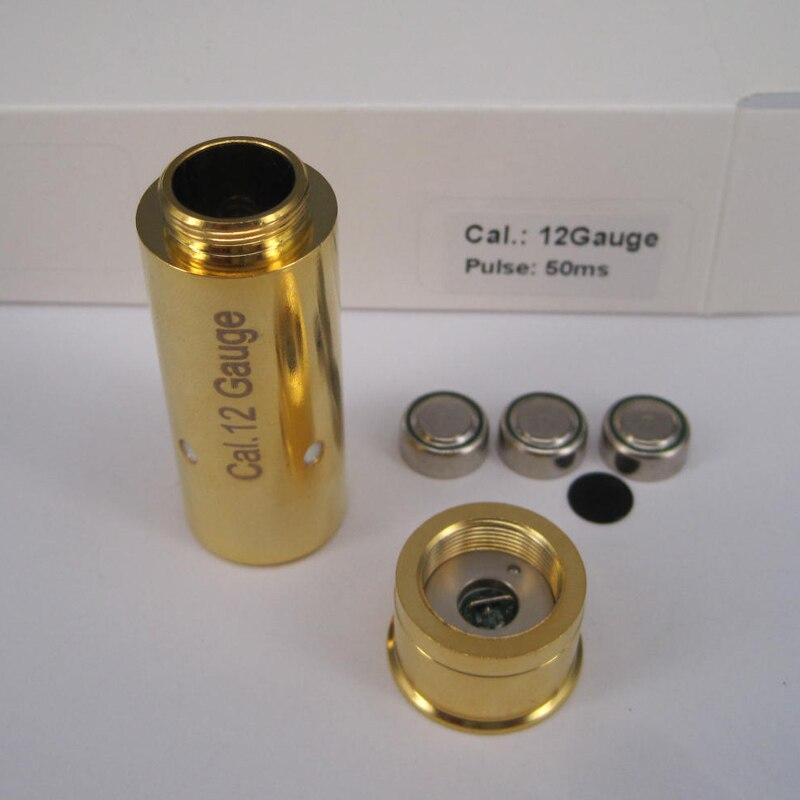 12 calibre (pulso de luz 50 ms)
