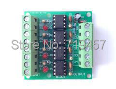 FREE SHIPPING 4 Channel High Speed Optocoupler Isolation Module /6N137/10M Optocoupler / Optocoupler Isolation Plate