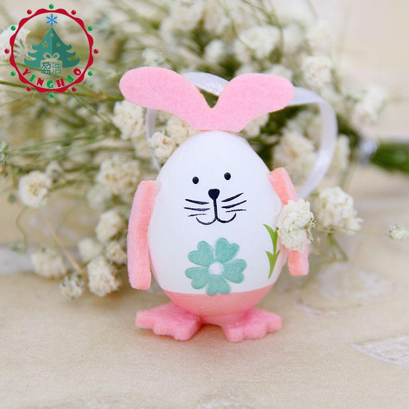 inhoo 9pcs Easter Eggs Rabbit Gift Desktop Ornament Easter Decor - Feestversiering en feestartikelen - Foto 1
