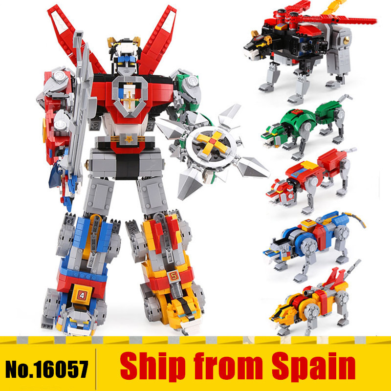 16057 Ideas serie Voltron Defender del universo modelo Construcción bloques juguetes compatibles con 21311 niños regalo-in Bloques from Juguetes y pasatiempos    1