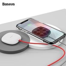 Беспроводное зарядное устройство Baseus на присоске для iPhone 11 Pro Max Qi, беспроводная зарядная подставка для samsung Note 9 S9+ USB беспроводное зарядное устройство