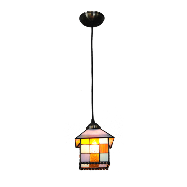 8 inch retro tiffany pendant light mediterranean classic stained 8 inch retro tiffany pendant light mediterranean classic stained glass bar cafe hall decor hanging lamp aloadofball Images
